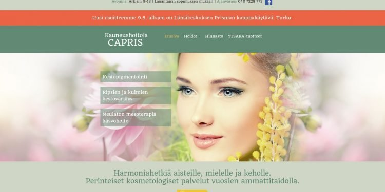 Kauneushoitola Capris